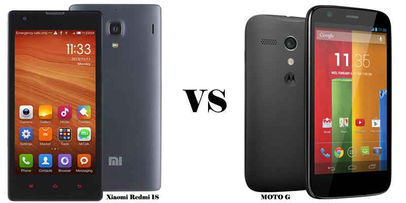 Pilih Mana, Xiaomi Redmi 1S Atau Motorola Moto G  ?