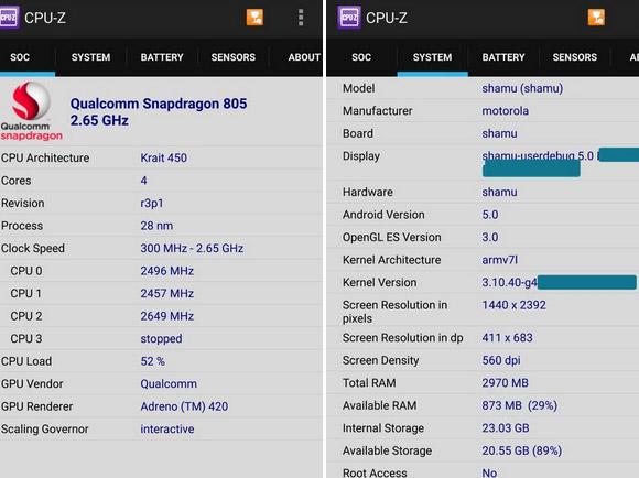 Skor Benchmark Nexus 6 Kalahkan Duo iPhone 6