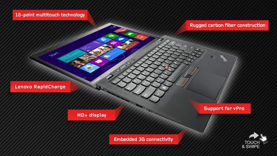 Lenovo ThinkPad X1 Carbon Touch; Mencicipi Laptop Serat Carbon