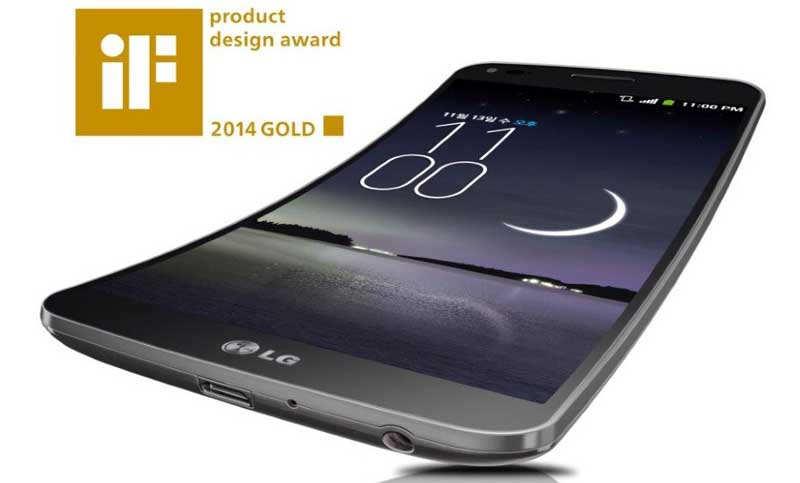 LG G Flex,Pesona Smartphone Layar Lengkung