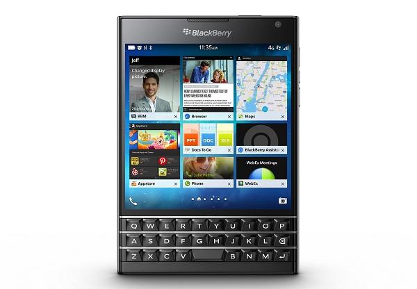 Menjajal Passport Buatan BlackBerry