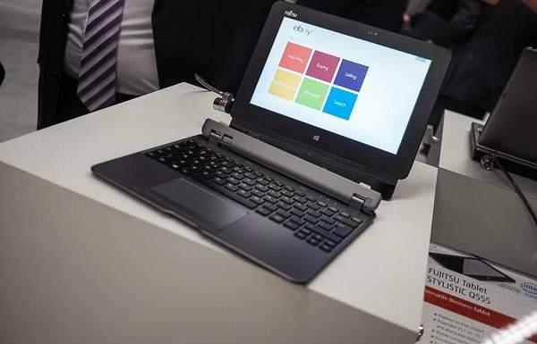 Fujitsu Stylistic Q555, Laptop Multifungsi  Kerja Mumpuni