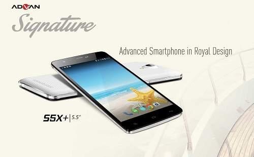 Advan Signature S5X+, Ponsel Lokal Rasa Premium