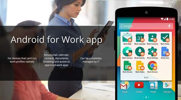 Android for Work Google Gandeng BlackBerry