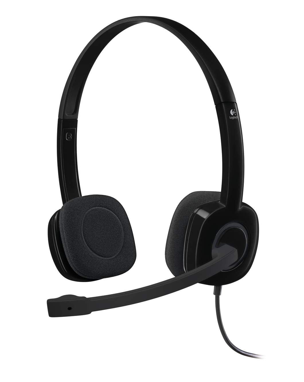 Logitech Stereo Headset H15 dengan Fitur Noise Canceling Buat Suara Makin Jernih