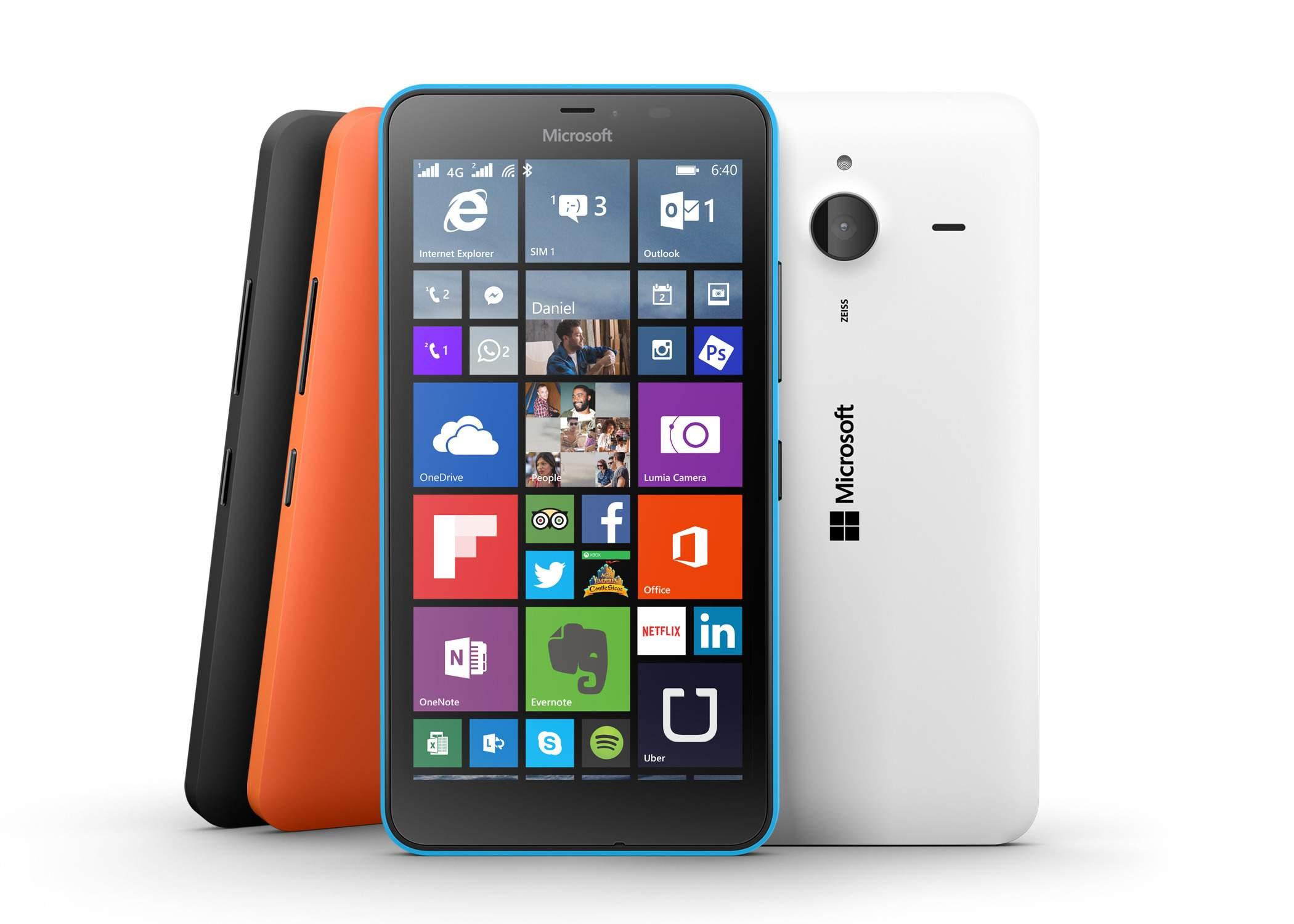 Lumia 640 LTE dan 640 XL Dual SIM Tiba di Indonesia: Spesifikasi Beda di Koneksi, Layar dan Kamera