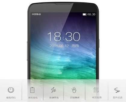 Innos D6000 Handphone Asal Tiongkok dengan Dua Baterai