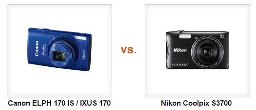Pilih Mana Kamera Pocket Rp 1 jutaan, Nikon Coolpix S3700 atau Canon IXUS 170