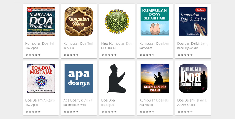 aplikasi kumpulan doa