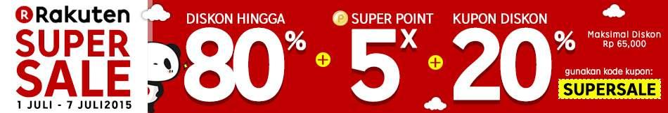 Super Murah! Apple Watch Diskon 50% di Rakuten Super Sale
