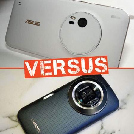 Duel Smartphone Kamera, Asus Zenfone Zoom VS Samsung Galaxy K Zoom