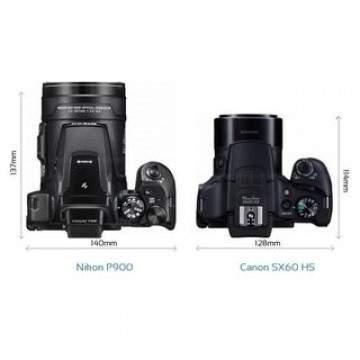 Tarung Kamera Zoom, Canon SX60 dan Nikon P900