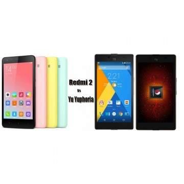 Yu Yuphoria, Pesaing Xiaomi Redmi 2 dari India