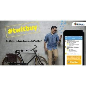 Indosat #TwitBuy, Beli Paket Internet Indosat Lewat Twitter