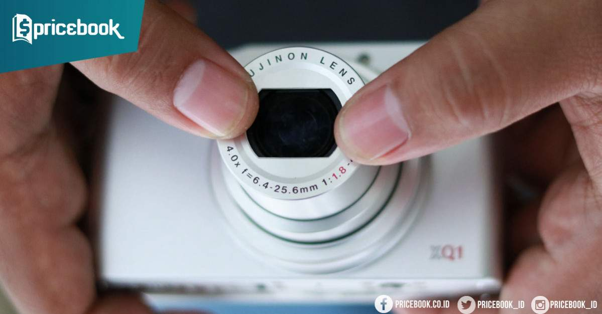 memperbaiki lensa kamera digital macet