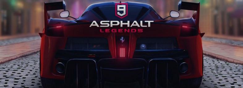 Asphalt 9 legend