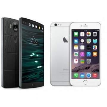 LG V10 vs iPhone 6s Plus, Duel Phablet Premium