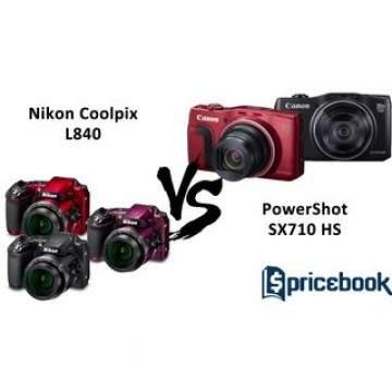 Duel Kamera SuperZoom, Canon PowerShot SX710 HS dan Nikon Coolpix L840