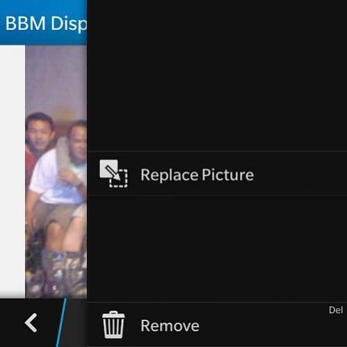 Display Picture (DP) BBM