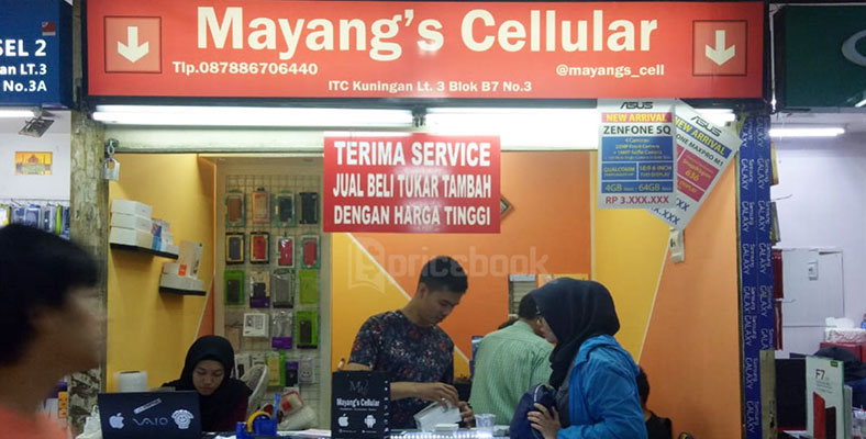 Mayang's Cellular, ITC Kuningan, Mall Ambassador
