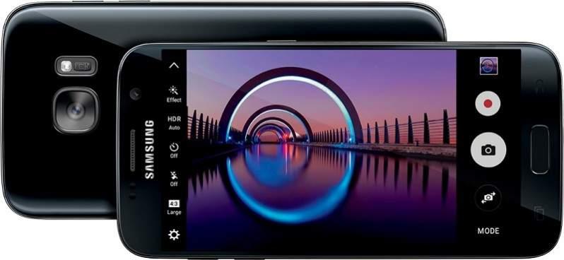 Kamera Galaxy S7 Edge