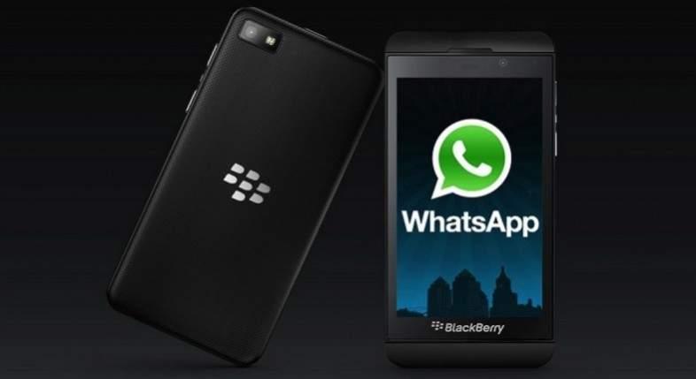 Whatsapp Blackberry Stop