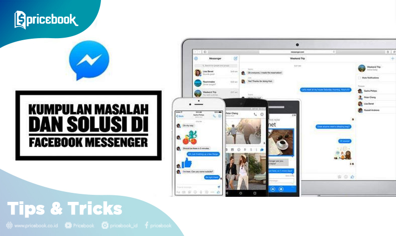 masalah facebook messenger