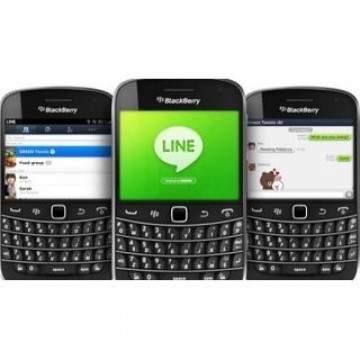 Line Akan Hentikan Support Aplikasi Untuk Blackberry?