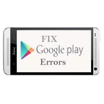 Kumpulan Kode Error Pada Google Play Store dan Solusinya