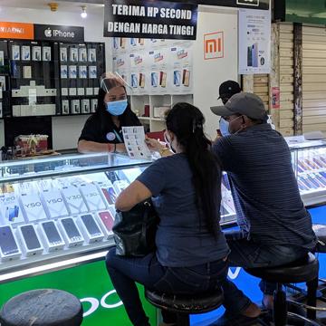 Toko Hp di ITC Cempaka Mas Rekomendasi Pricebook