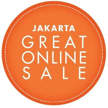 Promo Jakarta Great Online Sale (JGOS) Meriahkan Ulang Tahun Jakarta