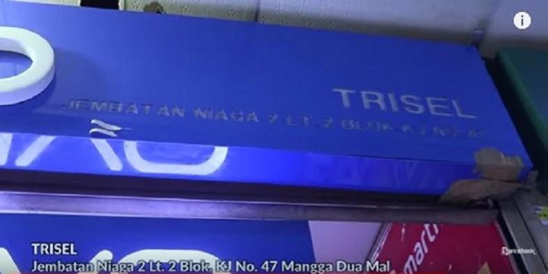 Trisel Mangga dua