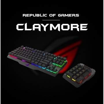 Asus ROG Claymore, Keyboard Gaming Baru dengan Tombol Mekanis Baru