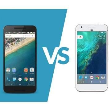 Duel Ponsel Google, Google Pixel vs LG Nexus 5X , Mana yang Terbaik?