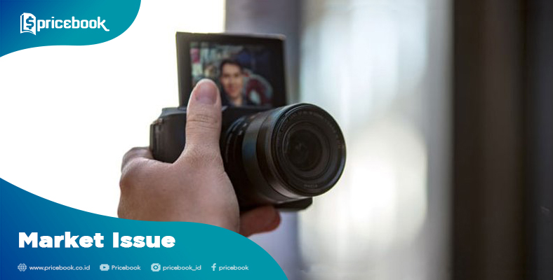 kamera mirrorless selfie