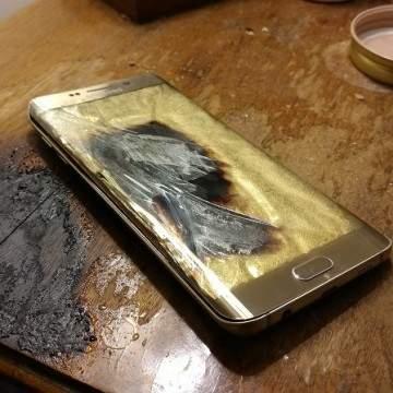 Kasus Lagi, Samsung Galaxy S6 Edge Terbakar Semalaman
