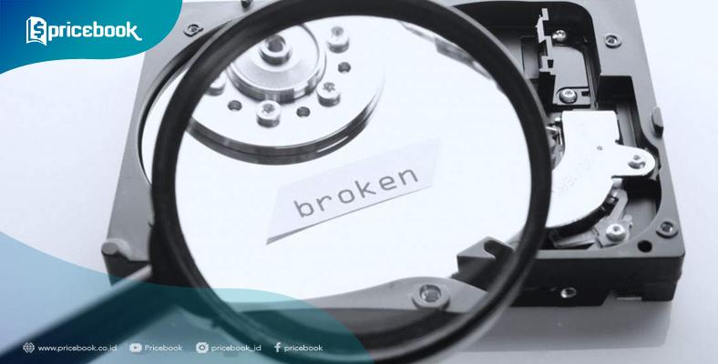 Cara perbaiki harddisk rusak