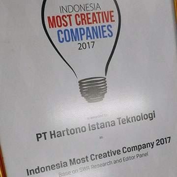 Inovasi Perangkat Elektronik Polytron Raih Penghargaan Indonesia Most Creative Company 2017