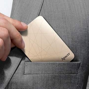 SSD Portable Apacer Ini Hanya Seukuran Kartu Nama