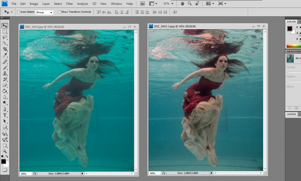 Cara Edit Foto Dalam Under Water, Format RAW | Pricebook