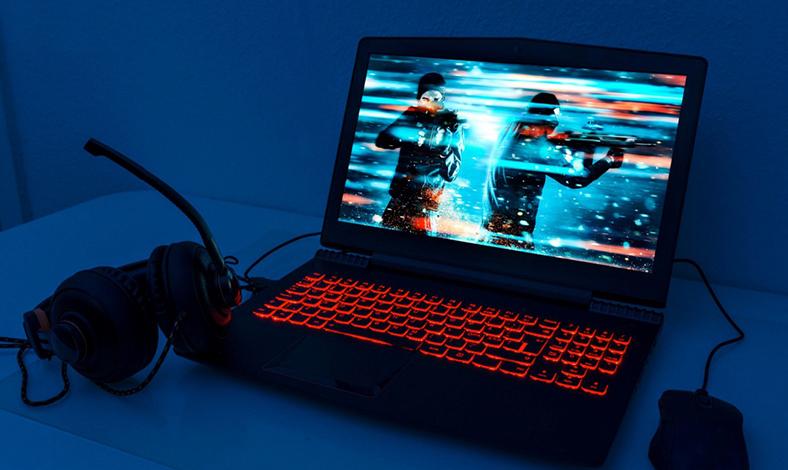 Laptop gaming dan editing video