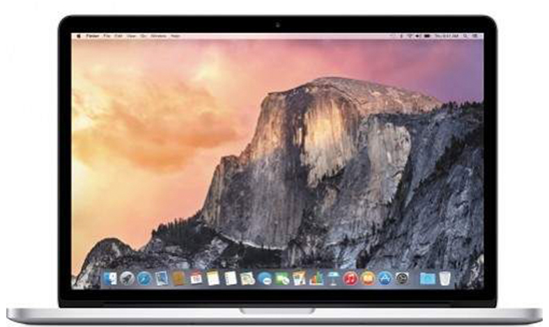 Laptop gaming dan editing video apple macbook pro