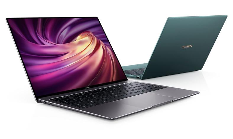 Laptop gaming dan editing video huawei matebook x pro
