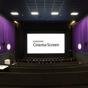 Debut Samsung Cinema LED Pertama di Dunia