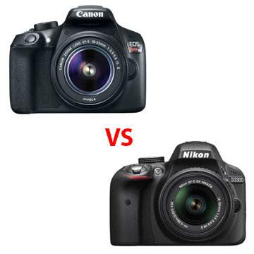 Canon 1300D vs Nikon D3300, Dua Kamera DSLR Untuk Pemula