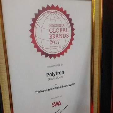 Polytron Ekspor Produk ke-32 Negara dan Raih Indonesia Global Brands 2017