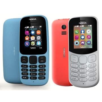 Hape Nokia 105 Dual SIM dan Nokia 130 versi 2017 Dipasarkan Rp200 Ribuan