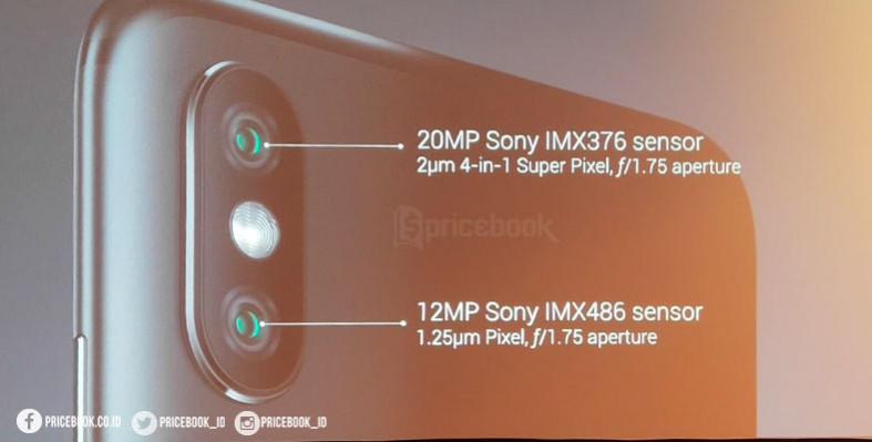 dual kamera sensor sony
