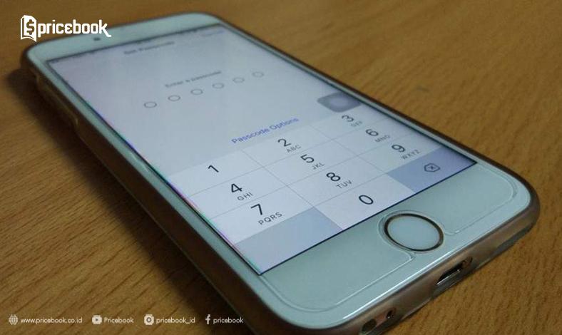 atur passcode di iphone