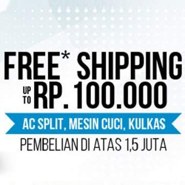 Hartono Elektronik Promo Free Shipping, Kirim Gratis ke Seluruh Indonesia